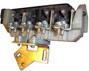 Блок контактов для КТ 6023-6033. Контакты 2х2.